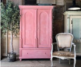 Annie Sloan Scandinavian Pink en White wax