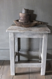 Oud krukje - kleur French Linen en Country grey