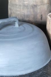 Cloche- kleur Graphite met wax