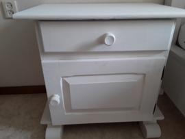 Klantfoto - Nachtkastje - Annie Sloan Original White