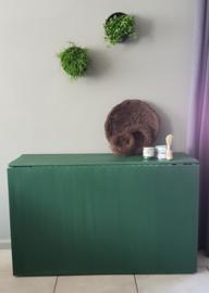 Klant foto - Kist - Annie Sloan Amsterdam Green en clear wax