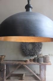Lampenkap, nikkel - kleur Graphite en Olive