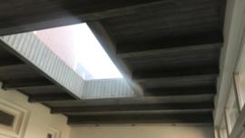 Plafond vergrijzen - Annie Sloan French linen