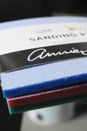 Annie Sloan sandingpads, set van 3