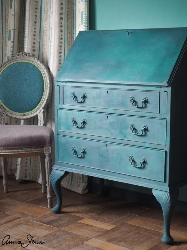 Annie Sloan Provence en Aubusson Blue