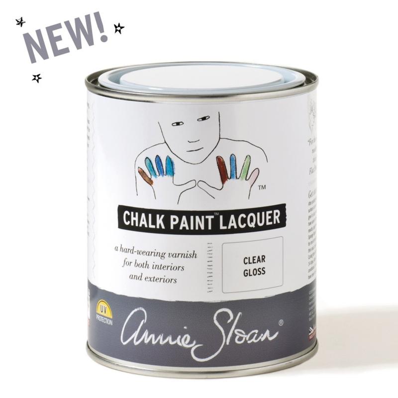 Annie Sloan Gloss Lacquer, zijdeglanzende lak, 750ml