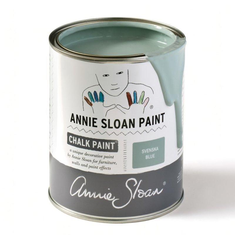 Krijtverf Annie Sloan - Kleur SVENSKA BLUE