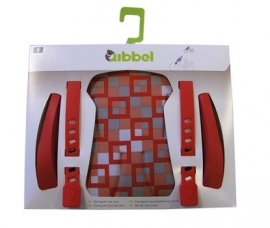 Qibbel Stylingset voorzitje checked red