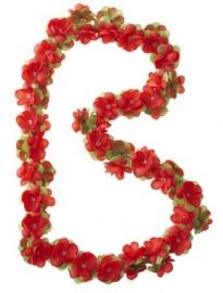 Bloemenslinger rood