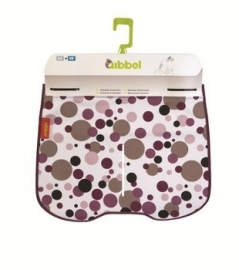 Qibbel Stylingset windscherm dots purple