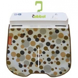 Qibbel Stylingset windscherm dots brown