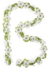 Bloemenslinger wit