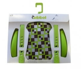 Qibbel Stylingset voorzitje checked green
