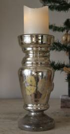 Oude zilverglas bokaal