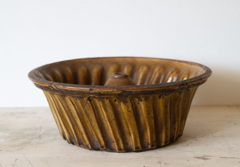 Franse bakvorm aardewerk