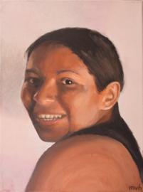 Braziliaanse vrouw (MVH-005) uitgeleend J.Ga.