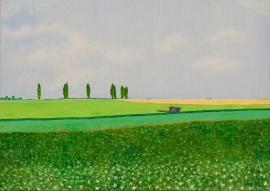 Limburgs landschap met kar  [HVU-011]