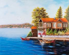 Huis aan zee, Istanbul (GA-001)