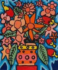 Bloemenboeket [SG-037]  Gereserveerd St. St.