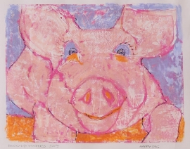 Happy pig (BW-100)
