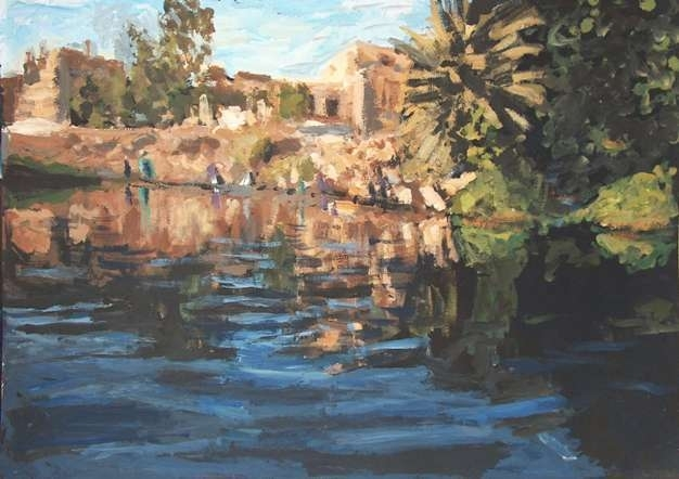 De oevers van de Nijl (art-003)