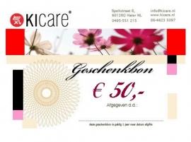 Geschenkbon € 50,-