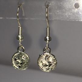 Yin Yang oorbellen voor balans - verzilverd, nikkelvrij