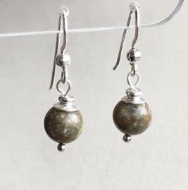 Unakiet oorbellen II, echt zilver - Unakiet