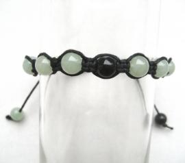 Shambhala armband Aventurijn/Onyx
