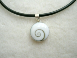 Shiva`s Eye, gevat in Sterling zilver