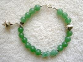Pulserende armband Aventurijn, groen