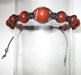 Shambhala armband Carneool
