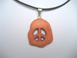 Peace, Vrede hanger, Howliet - Oranje