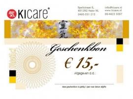 Geschenkbon € 15,-
