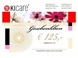 Geschenkbon € 125,-
