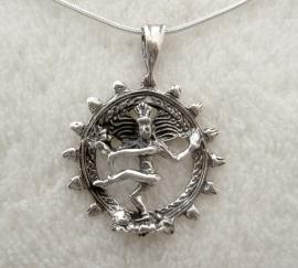 Shiva Nataraja voor Welzijn, Sterling zilver