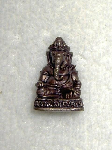 Ondernemers-/studie-Ganesha  3,2cm brons