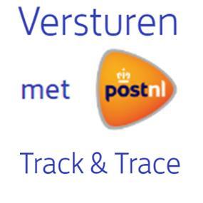Verzending met TrackTrace € 4,35