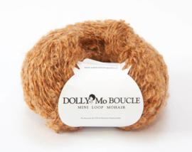 "DollyMo Mini mohair  bouclé ""Caramel"" no. 8003"