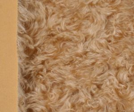 "Mohair Fur Steiff Schulte nr. 4116 ""Honey Blonde"" New!"