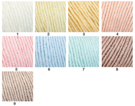 Sirdar Baby Merino Cashmere Silk DK/Little Yarn Doll Mary Jane's Tearoom