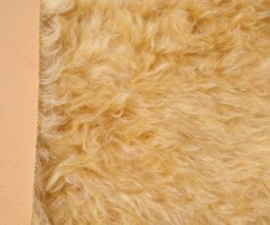 "Mohair Fur Steiff Schulte no. 4101 ""Blonde"" New!"