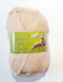 King Cole Merino Blend DK Light Beige 50 gram