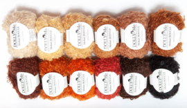 DollyMo Mohair Bouclé bigger looped/donut shaped balls  (new presentation)