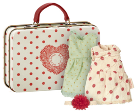 mouse suitcase with 2 sets of clothes 16-7789-00