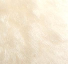 """Mohair Fur Steiff Schulte """"Wit""""  NIEUW"""