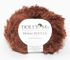 "DollyMo Mohair Bouclé ""Mahogany"" nr. 7006 Nieuwe Presentatie!"