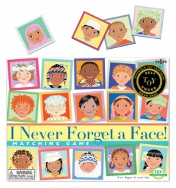 "Memory Game ""Faces"""