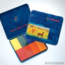Stockmar Beewax Blocks 8 Colors