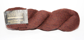 Cascade 220/Burnt Sienna Heather nr. 9656